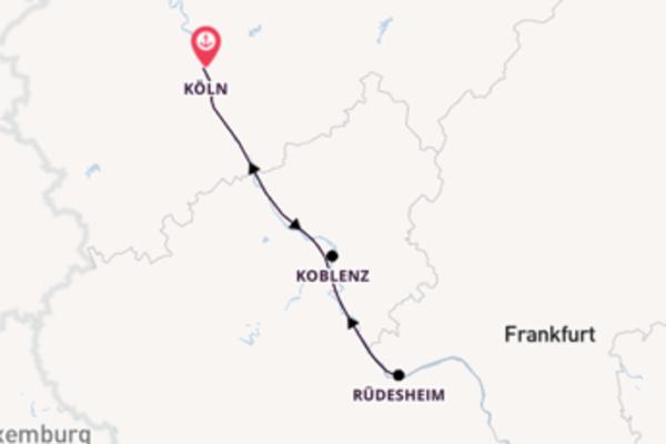 4 Tage Adventsreise ab Köln