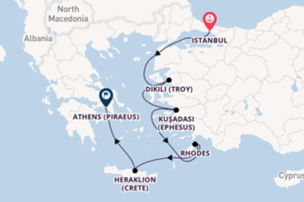 Spectacular journey from Istanbul with Viking Ocean Cruises
