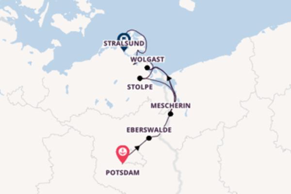 Großartige Reise ab Potsdam