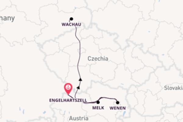 In 4 dagen naar Engelhartszell