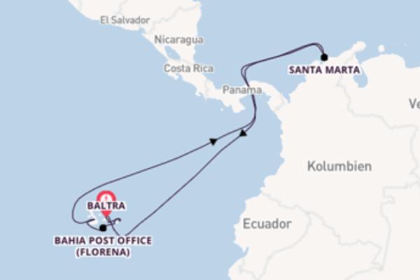 Kreuzfahrt mit der Celebrity Xpedition nach Baltra