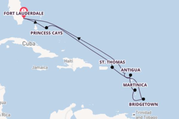 11 giorni da Fort Lauderdale