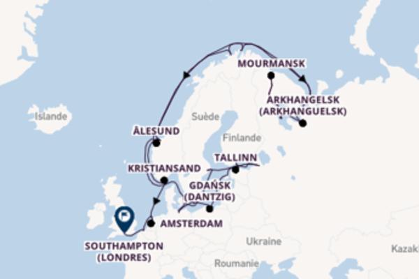 Belle croisière avec Oceania Cruises pendant 31 jours