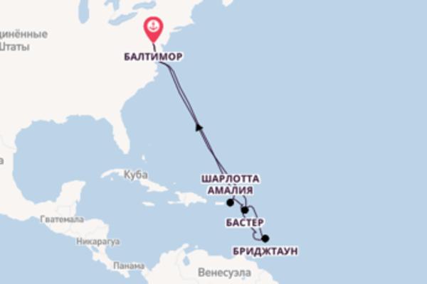 Фееричный вояж на 13 дней с Royal Caribbean