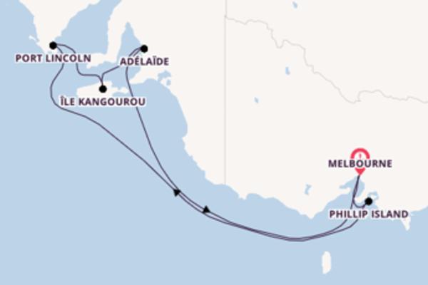 Croisière de 8 jours depuis Melbourne avec Princess Cruises