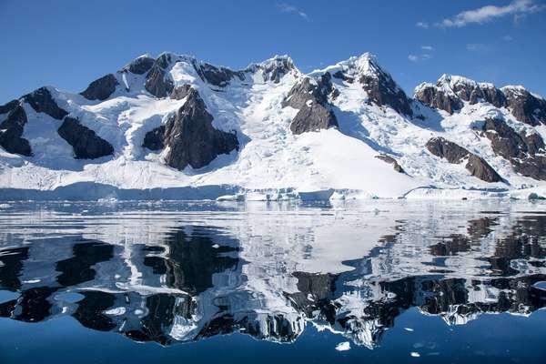 Port Charcot, Booth Island, Antarctica