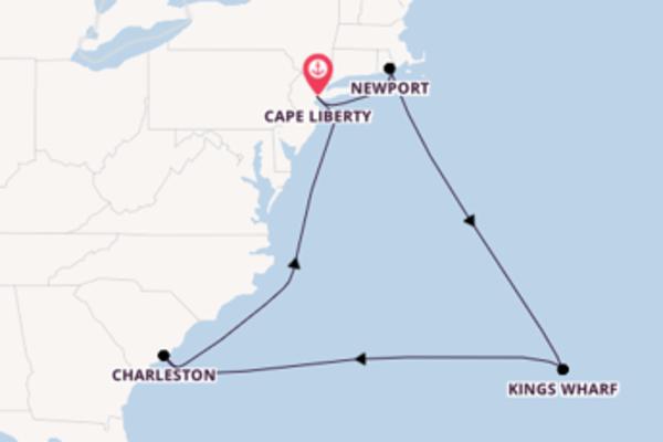 11-daagse cruise met de Celebrity Summit vanuit Cape Liberty