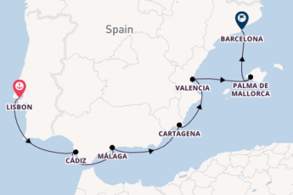Charming journey from Lisbon with Silversea