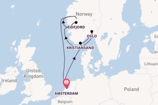 Aanschouw de parels van Oslo met de Nieuw Statendam