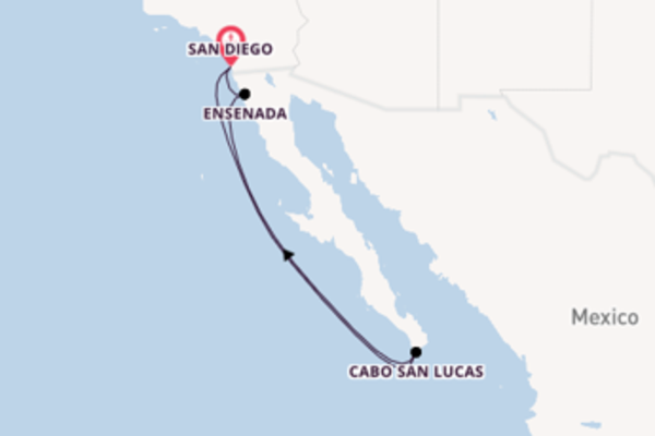 Glorious journey from San Diego with Holland America Line