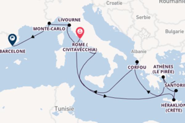 Croisière de 12 jours vers Barcelone avec Norwegian Cruise Line