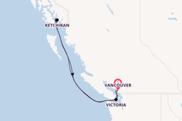 Cruise with Celebrity Cruises from Vancouver