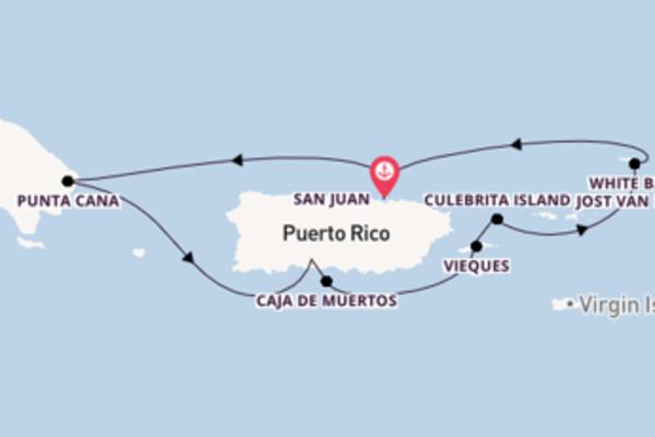 Großartige Reise über Caja de Muertos in 8 Tagen