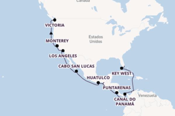 A bordo do Seabourn Odyssey em um cruzeiro de 28 dias