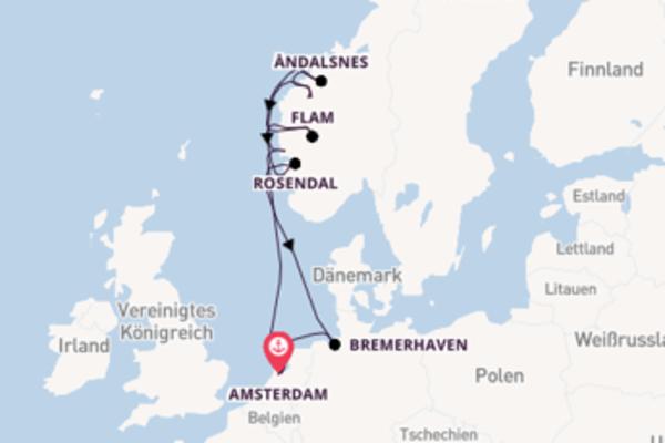 In 10 Tagen nach Amsterdam