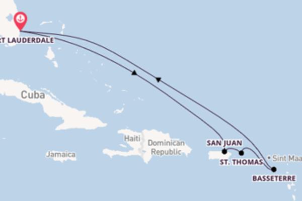 Cruise met Celebrity Cruises naar St. Thomas