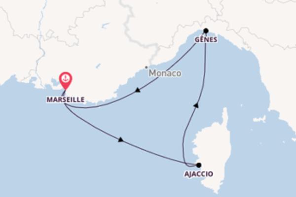 Idyllique balade à bord du bateau MSC Preziosa
