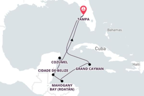 À descoberta do Caribe Ocidental