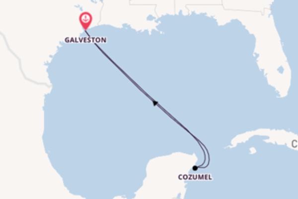 Visitez avec Carnival Cruise Lines, la destination: Cozumel