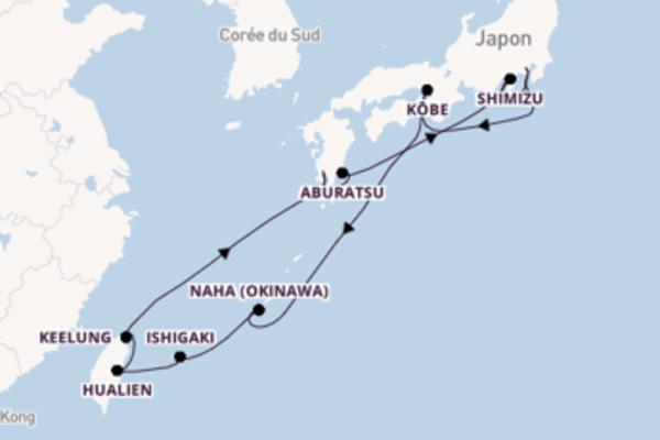 Étonnante croisière de 15 jours avec Holland America Line