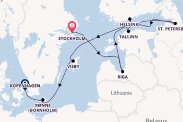 Cruise in 11 dagen naar Kopenhagen met Royal Caribbean