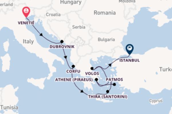 Cruise in 9 dagen naar Istanbul met Norwegian Cruise Line