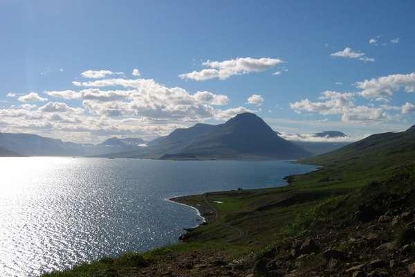 Eskifjördur, IJsland