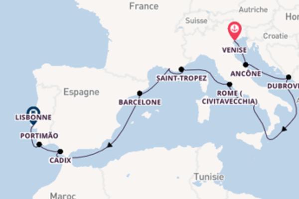 Divine balade de 13 jours avec Oceania Cruises