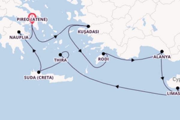Scopri Rodi partendo da Pireo (Atene)