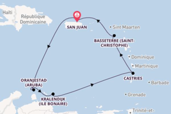 8 jours de navigation à bord du bateau Norwegian Epic vers San Juan