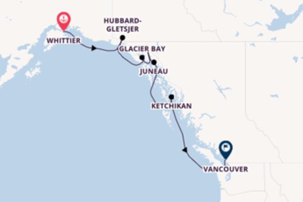 Maak een droomcruise naar Glacier Bay