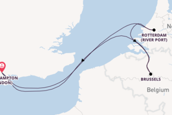 5 day voyage from Southampton
