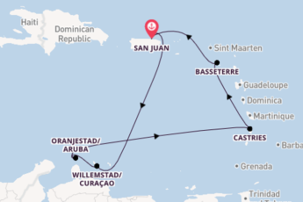 8 day trip on board the Norwegian Epic from San Juan