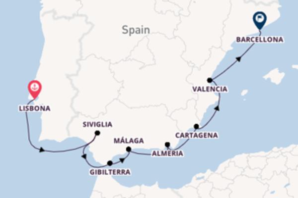 Lasciati affascinare da Almeria partendo da Lisbona