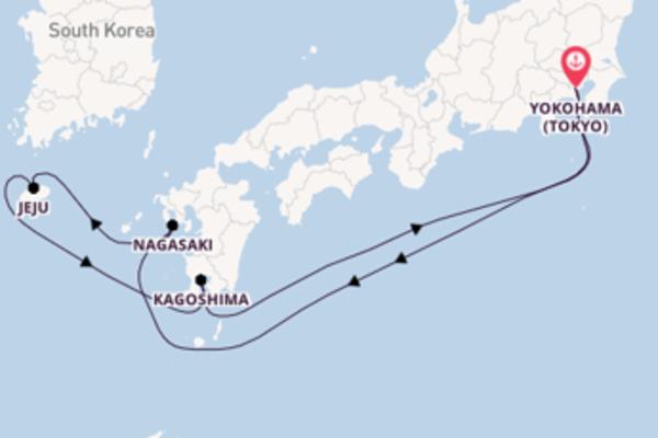 Cruise with Princess Cruises from Yokohama (Tokyo)