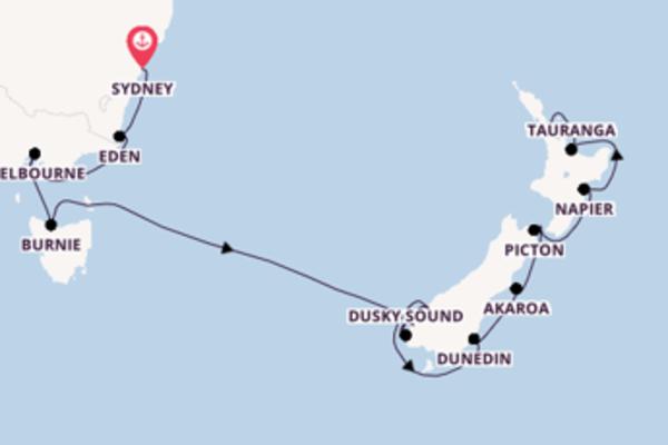 Scopri Eden partendo da Sydney