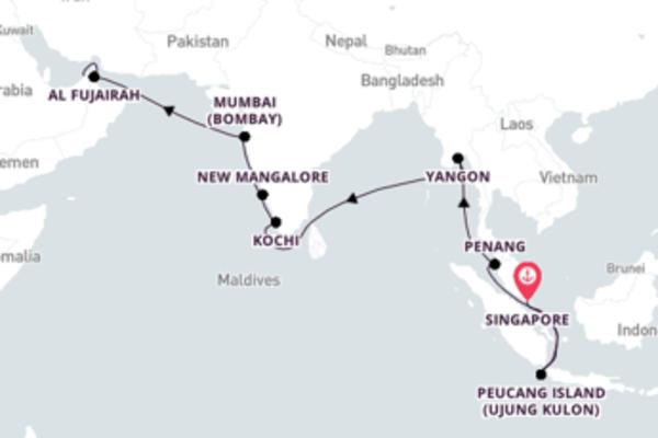 Singapore to Dubai with Nautica