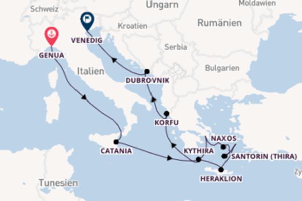 13 Tage auf der Ocean Majesty verbringen