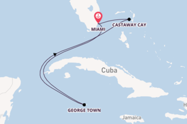 6-daagse cruise met de Disney Magic vanuit Miami