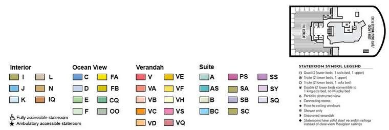 ms Nieuw Statendam Deck 12 Observation