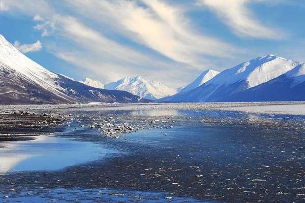Фредерик Саунд, Аляска