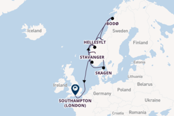 13 day expedition from Oslo