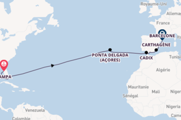 Splendide balade de 16 jours avec Celebrity Cruises
