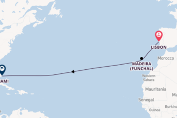 13 day cruise from Lisbon