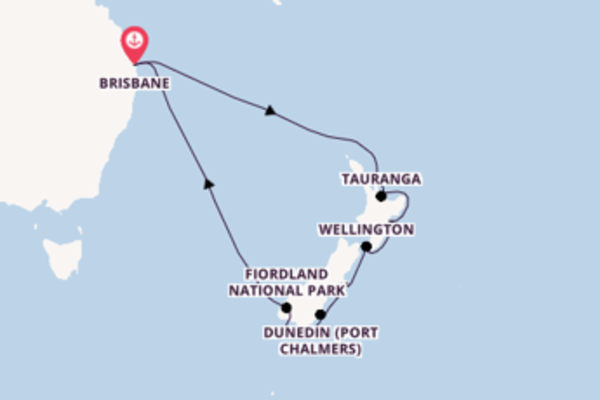 15 day cruise with the Sun Princess to Brisbane