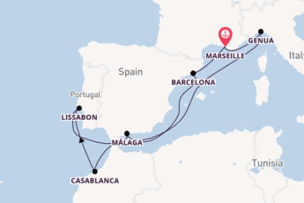 Maak een droomcruise naar Barcelona