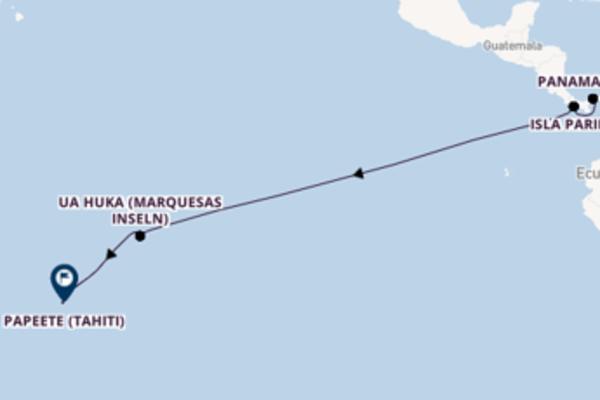 Südseeparadies ab Colon