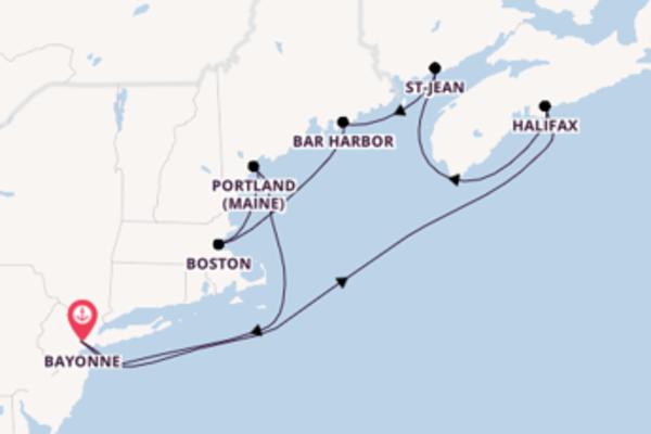 Croisière de 10 jours depuis Bayonne avec Royal Caribbean