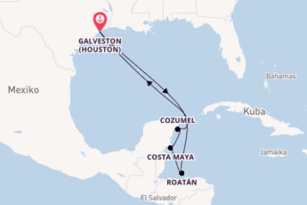 Beeindruckende Reise nach Galveston