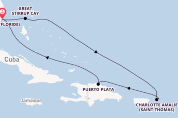 Superbe balade de 8 jours avec Norwegian Cruise Line